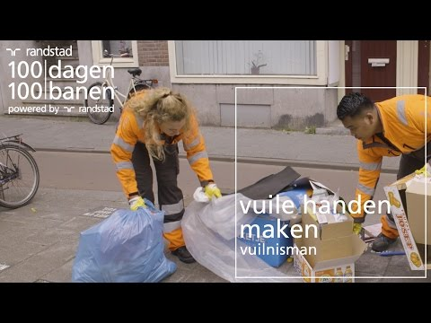 Hoe ziet het leven van een vuilnisman eruit?! - Dag 38