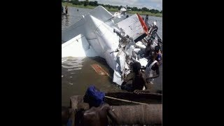 BREAKING NEWS: Several killed in air crash in Juba, South Sudan