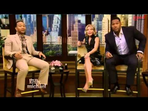 John Legend Interview   Live with Kelly and Michael 2015