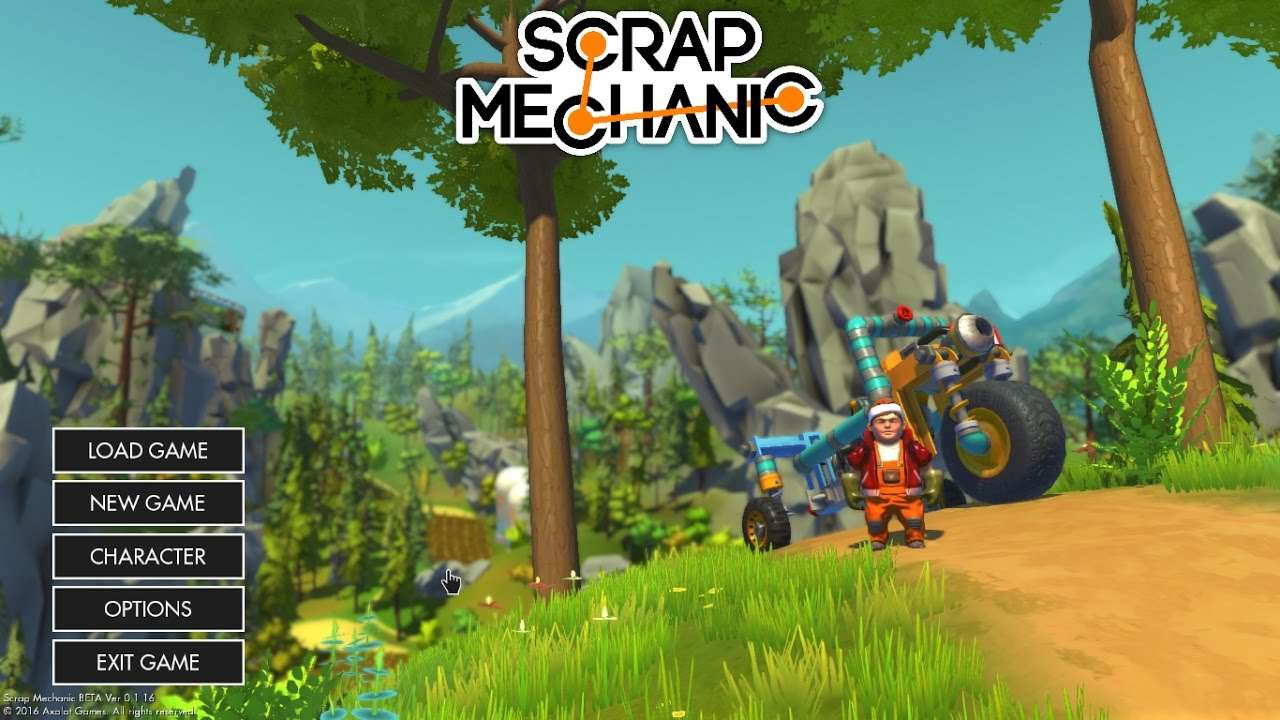 scrap mechanic gratis