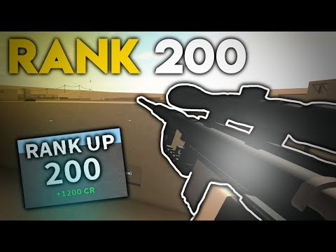 RANK 200 in PHANTOM FORCES... (roblox)