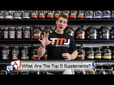 What Are the Top 5 Supplements To Build Muscle and Burn Fat In 2014? MassiveJoes.com MJ Q&A