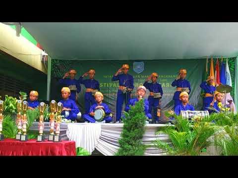 festival-hadroh-&-marawis-2019-dalam-rangka-isra-mi'raj-di-sekolah-markus-tangerang
