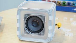 building bose s speaker cube
