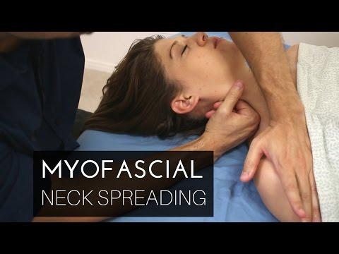 Massage Technique: Myofascial neck spreading/stretching