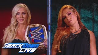 Charlotte Flair and Becky Lynch engage in a war of wars: SmackDown LIVE, Sept. 4, 2018