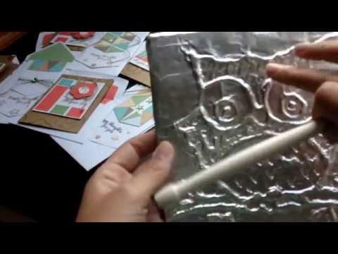 DIY Tin Foil Owl Decoration