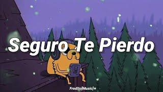 💔Seguro Te Pierdo - KID FLEX, Serge (Lyrics/Letra)