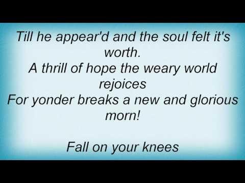 Aaron Neville - Oh Holy Night Lyrics