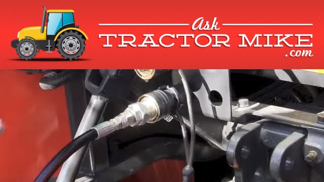 Tractor Hydraulic Remote : What are remote hydraulics on a tractor youtube