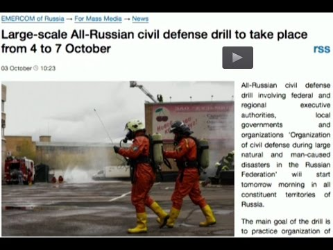 UK Column Tuesday 04/10/2016 The Russian Civil Defence Drill One. Drill One.