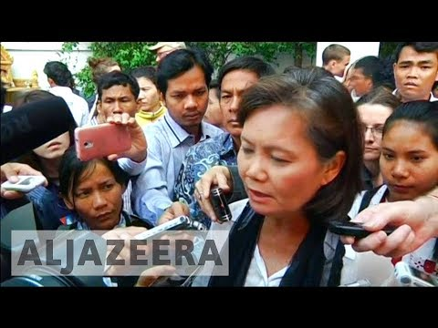 Cambodia opposition leader flees government crackdown