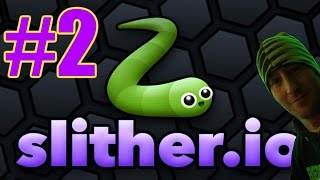 Slither.io Gameplay #2 - The Smarties Snake (PC)
