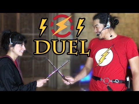 Real Life Wizard Duel with ELECTRICITY | Sufficiently Advanced