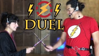 Real Life Harry Potter Wizard Duel With ELECTRICITY | Sufficiently Advanced