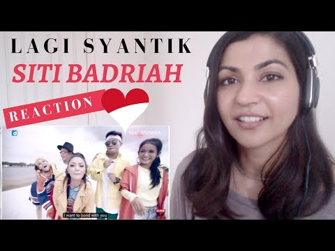 Siti Badriah - Lagi Syantik-- Reaction Video! / Indonesian Music Reaction
