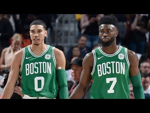 Jayson Tatum and Jaylen Brown SHOW OFF Elite Dribbling | Young Celtics Crossover Mix