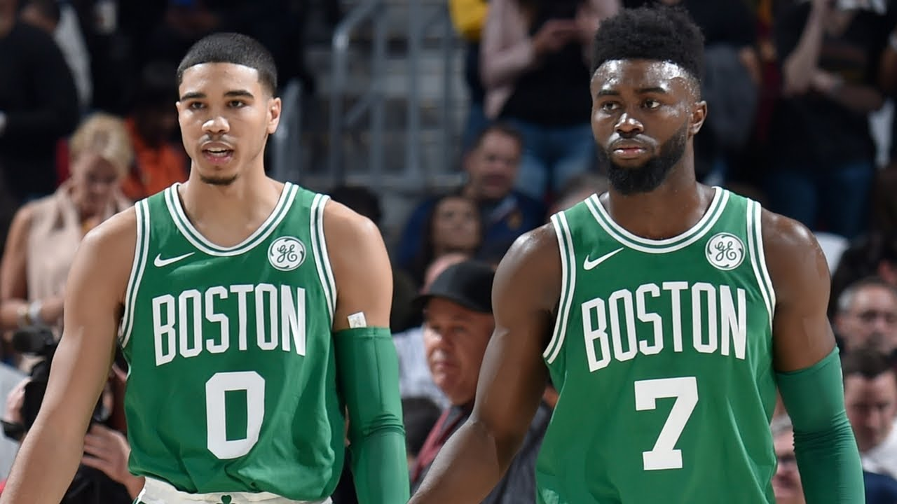 Image result for jayson tatum and jaylen brown