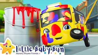 Learn Colors Song | Buster Rhymes - Little Baby Bum | Nursery Rhymes And Kids So