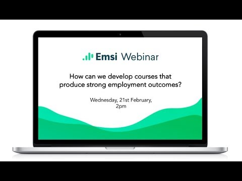 How can we develop courses and career services that produce strong employment outcomes?
