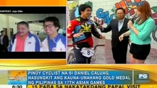Asian Games gold medalist Daniel Caluag showcases his BMX moves on Unang Hirit
