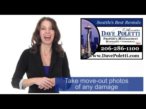 """""""Seattle Property Management"""" - How To - Handling Security Deposits"""