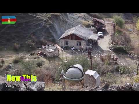 Video Footage of Beautiful Place of a Vang village of Kalbajar region of Nagorno-Karabakh Azerbaijan
