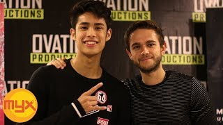 MYXclusive: ZEDD On His Collaborations With LIAM PAYNE, HAILEE STEINFELD And More!