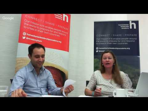 Managing in the humanitarian sector - Webinar with Robin Nataf