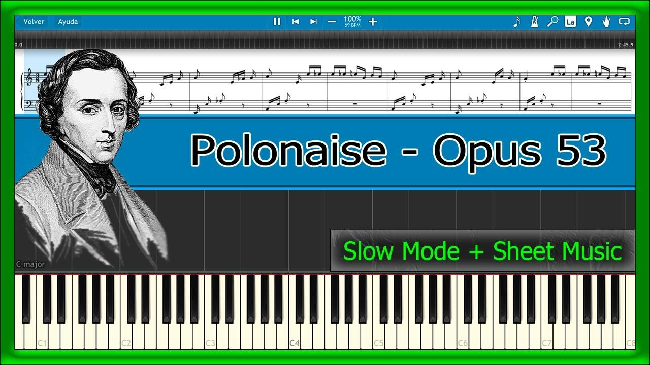 Chopin polonaise in g minor (posthumous) piano tutorial.