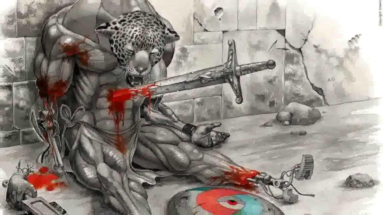 Artemio Guevara Pintor De Ficción Y Fantasía Guerreros Aztecas