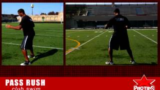 Football Tips: How to rush the passer with Corey Wootton