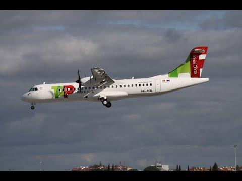 1st TAP EXPRESS in Lisbon! (ATR 72-600)