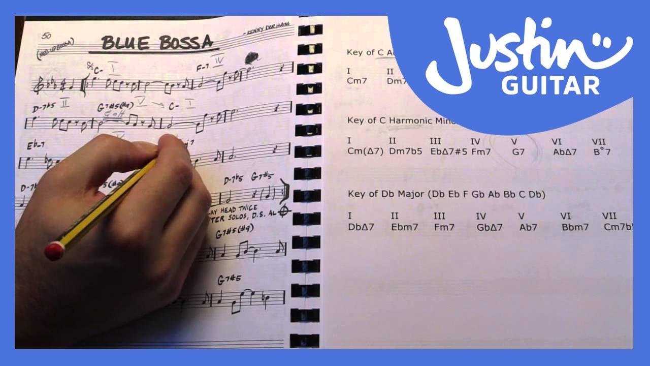 Jazz Standards | JustinGuitar com