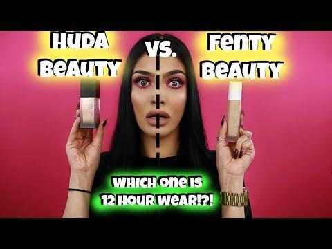 Huda Beauty vs. Fenty Beauty Foundation