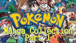 Meine Pokémon Manga Sammlung Teil 1 [Deutsche Manga]