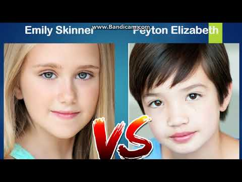 Emily Skinner Vs Peyton Elizabeth