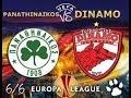 Europa League Dinamo vs Panathinaikos