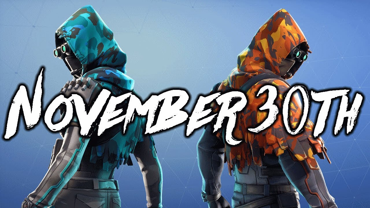Fortnite Item Shop Predictions - November 30th - YouTube
