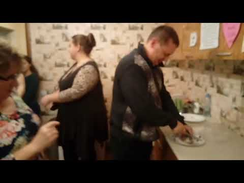 Americans try a dry fish in Russia.