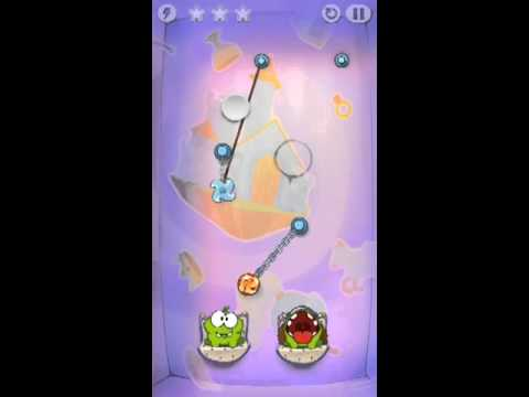 Cut The Rope Time Travel Level 1-15 Walkthrough | The Middle Ages Level 1-15 Walkthrough