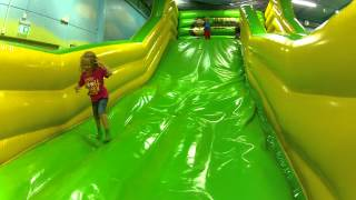 Indoor Playground Inflatable slide