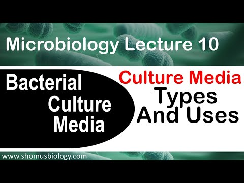 Microbiology Lecture 10 | Bacterial Culture Media Classification Types And Uses