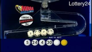 2017 05 19 Mega Millions Numbers and draw results
