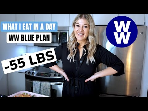 What I Eat in a Day on Weight Watchers Blue Plan   WW 2021