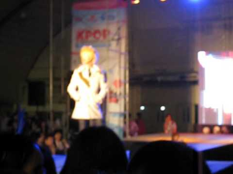 Jack Lee Jae Shin in KPop Convention 2012
