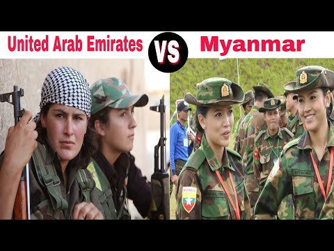 United Arab Emirates VS Myanmar military power comparison 2018