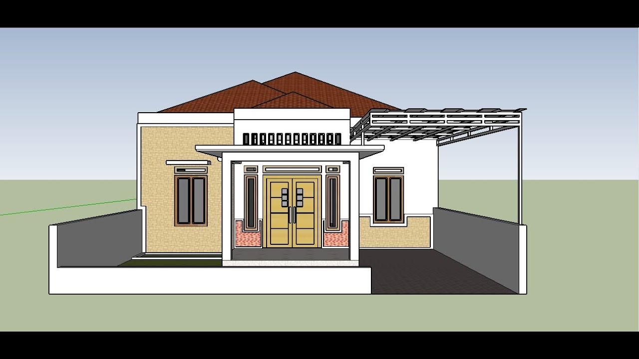 Model Terbaru Desain Rumah Sederhana Tapi Elegan Dengan ...