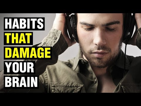 12 Bad Habits That Damage Your Brain