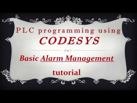 CODESYS: Alarm Management